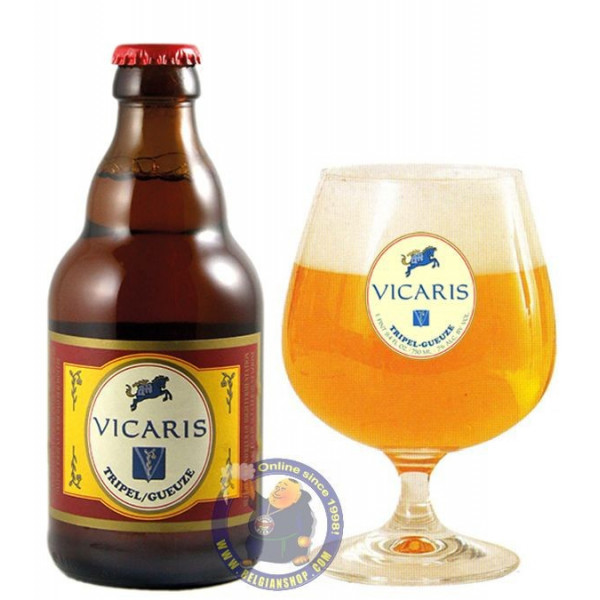Buy-Achat-Purchase - Vicardin Tripel Gueuze 7° -1/3L - Special beers -