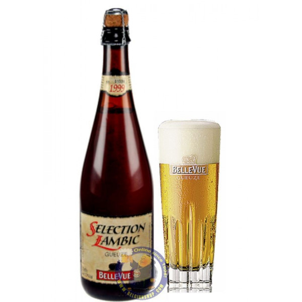 Buy-Achat-Purchase - Belle-Vue Gueuze 5.2°-3/4L - Geuze Lambic Fruits -
