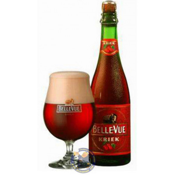 Buy-Achat-Purchase - Belle-Vue Kriek 5.2°-37cl - Geuze Lambic Fruits -