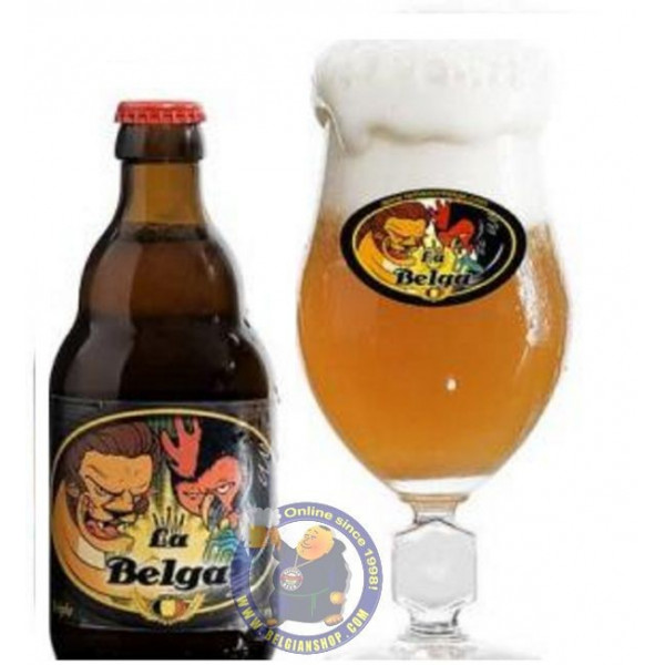Buy-Achat-Purchase - La Belga 8° -1/3L  - Special beers -