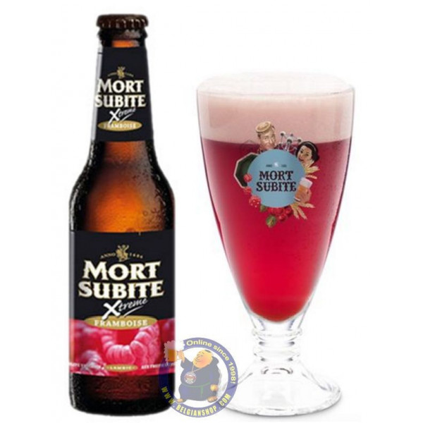 Buy-Achat-Purchase - Mort Subite Xtreme Framboise 4,2° - 1/4L  - Geuze Lambic Fruits -
