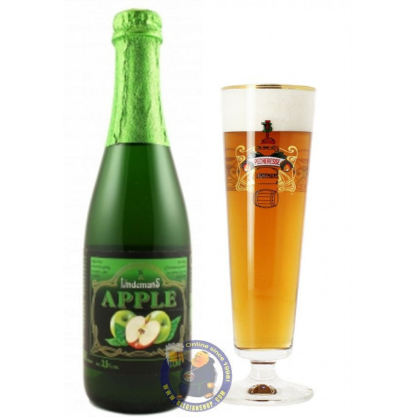 Buy-Achat-Purchase - Appel Lindemans 3,5° - 37cl  - Geuze Lambic Fruits -