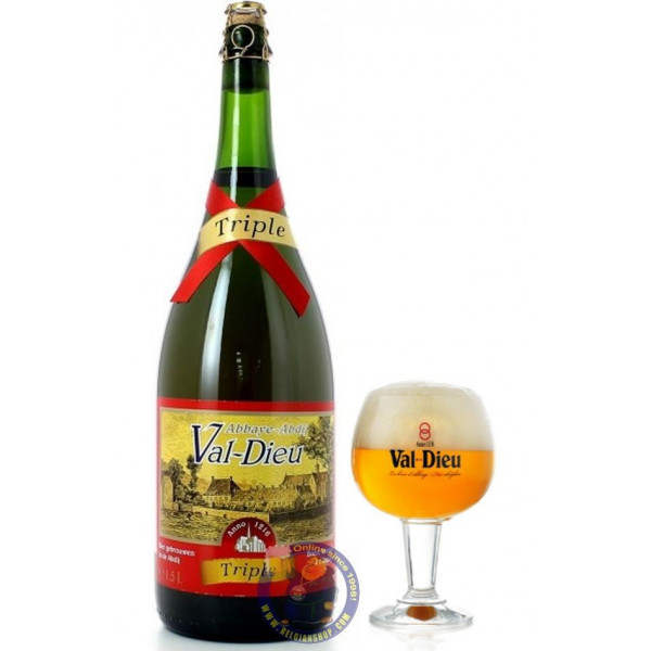 Buy-Achat-Purchase - MAGNUM Val Dieu Triple 9° - 1.5L - Abbey beers -