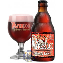 Waterloo Strong Kriek 8° - 1/3L - Geuze Lambic Fruits -