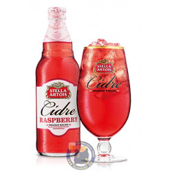 Buy-Achat-Purchase - Stella Artois CIDER Raspberry 4X33cl - Special beers -