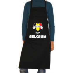 "APRON \""With Love From Belgium\\"" - Home -"