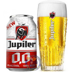 Buy-Achat-Purchase - Jupiler 0,0% 0° - 6 X 33cl CAN - Pils -