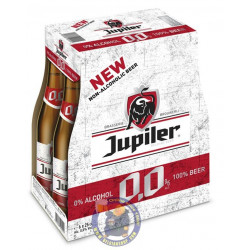 Buy-Achat-Purchase - Jupiler 0,0% 0° - PACK 6 X 25CL - Low/No Alcohol - AB-Inbev