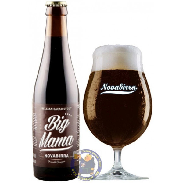 NovaBirra Big Mama Stout 8° - Special beers -