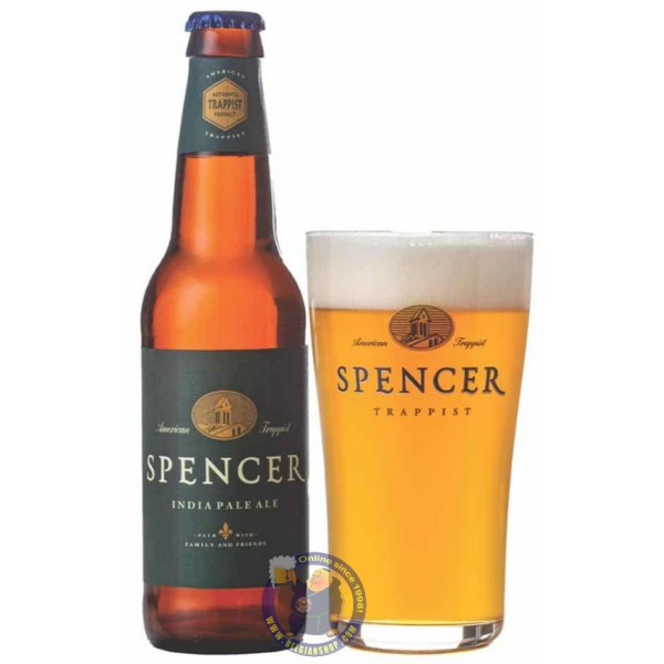 Buy-Achat-Purchase - Spencer India Pale Ale 7.2° - 1/3L - Trappist beers -