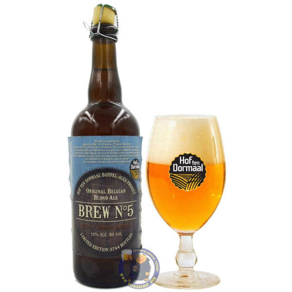 Buy-Achat-Purchase - Hof Ten Dormaal Barrel Aged Project No. 5 Sherry - Special beers -