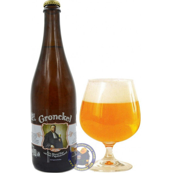 Buy-Achat-Purchase - Vrijstaat Vanmol Gronckel Blond 6.5° - 3/4L - Special beers -
