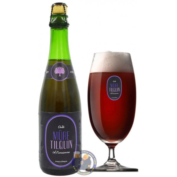Buy-Achat-Purchase - TILQUIN Oude Mûre à l'Ancienne 6.4° - 37,5cl - Geuze Lambic Fruits -
