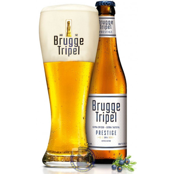 Buy-Achat-Purchase - Brugge Tripel PRESTIGE 9.5° - 1/3L - Special beers -