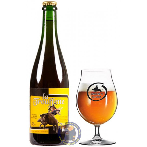 Buy-Achat-Purchase - La Trouffette Rousse 7.8° - 3/4L - Special beers -
