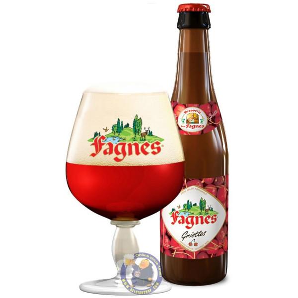 Buy-Achat-Purchase - Super des Fagnes Griottes 4,8° - 1/3L - Geuze Lambic Fruits -