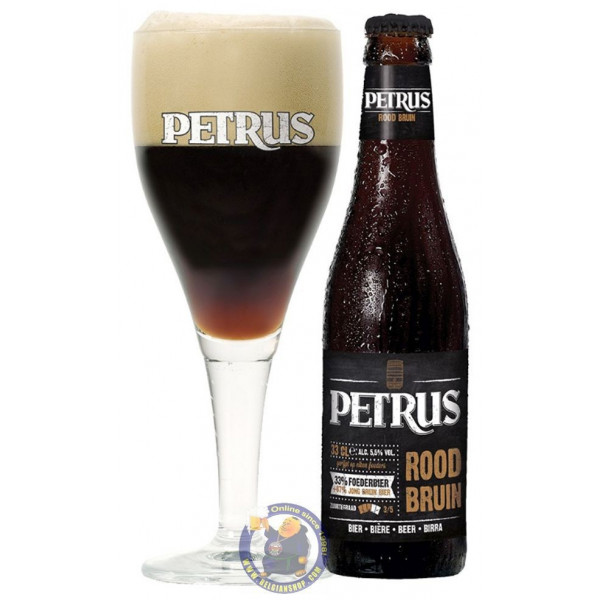 Buy-Achat-Purchase - Petrus Roodbruin 5.5° - 1/3L - Flanders Red -