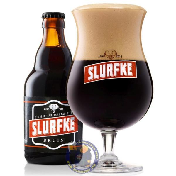 Slurfke Bruin 8.5° - 1/3L - Special beers -