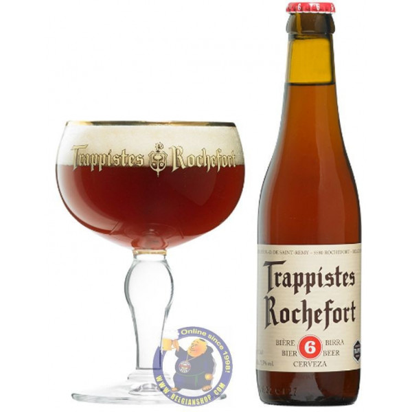 Buy-Achat-Purchase - Rochefort Trappistes 6 - 7.5°-1/3L - Abbey beers -
