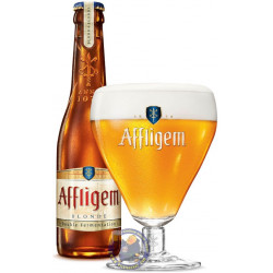 Affligem blond 6.8° - 30cl - Abbey beers -