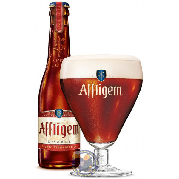 Buy-Achat-Purchase - Affligem Dubbel 7°- 30cl - Abbey beers -
