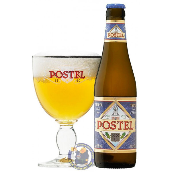 Postel Triple 8.5°C - 33cl - Abbey beers -