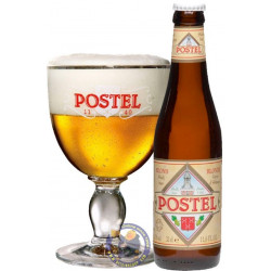 Postel Blond 7 °C - 33Cl - Abbey beers -