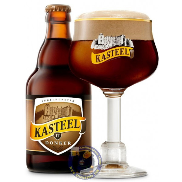 Buy-Achat-Purchase - Kasteel Donker 11°-1/3L - Special beers -