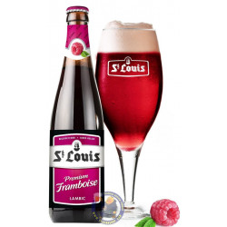 Buy-Achat-Purchase - St-Louis Premium Framboise 2,8° - 1/4L - Geuze Lambic Fruits -