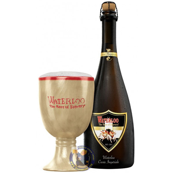 Buy-Achat-Purchase - Waterloo Cuvée Impériale 9.4° - 3/4L - Special beers -