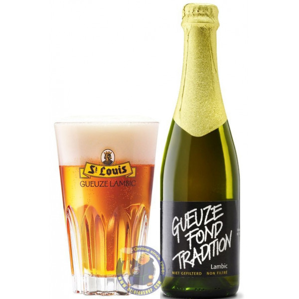 Buy-Achat-Purchase - St. Louis Gueuze Fond Tradition 5° - 37,5cl - Geuze Lambic Fruits -