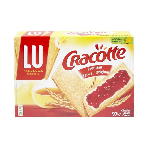 Buy-Achat-Purchase - LU Cracotte Froment 250g - Biscuits - LU