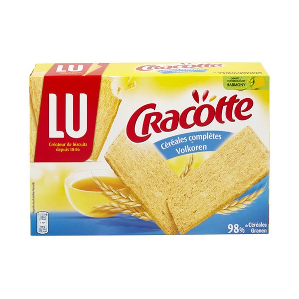 Buy-Achat-Purchase - LU Cracottes Cereales Completes 250G - Biscuits - LU