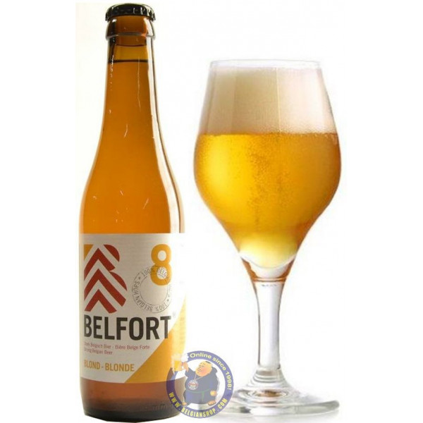Buy-Achat-Purchase - Belfort Blond 8° - 1/3L - Special beers -