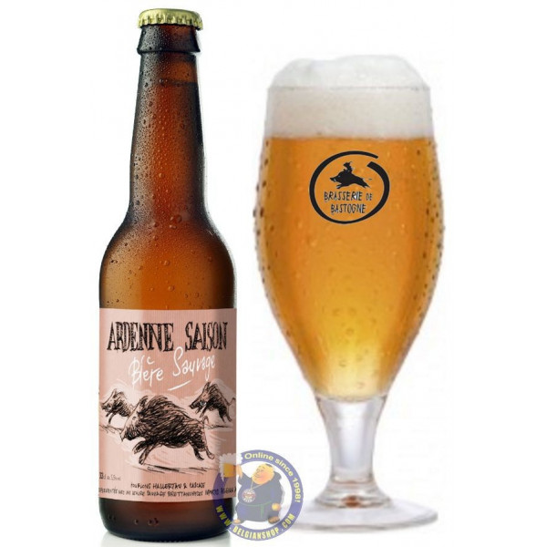 Buy-Achat-Purchase - Ardenne Saison 5.5° - 1/3L - Season beers -