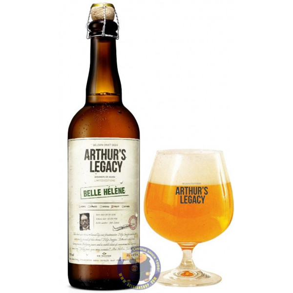 Buy-Achat-Purchase - Arthur's Legacy 06. Belle Hélène 7° - 3/4L - Geuze Lambic Fruits -