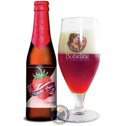 Buy-Achat-Purchase - Bobeline Blanche Fraise 3.5° -1/3L - Geuze Lambic Fruits -