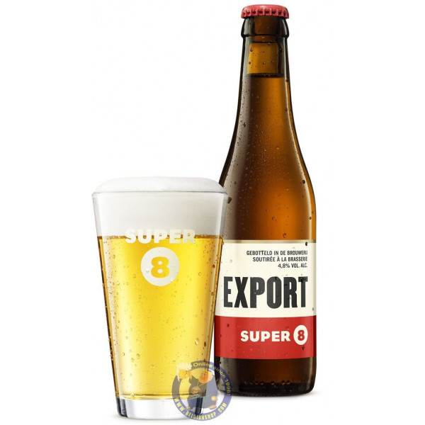 Buy-Achat-Purchase - Haacht Super 8 Export 4.8° - 1/3L - Special beers -