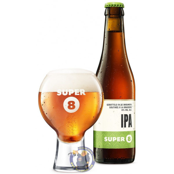 Buy-Achat-Purchase - Haacht Super 8 IPA 6° - 1/3L - Special beers -