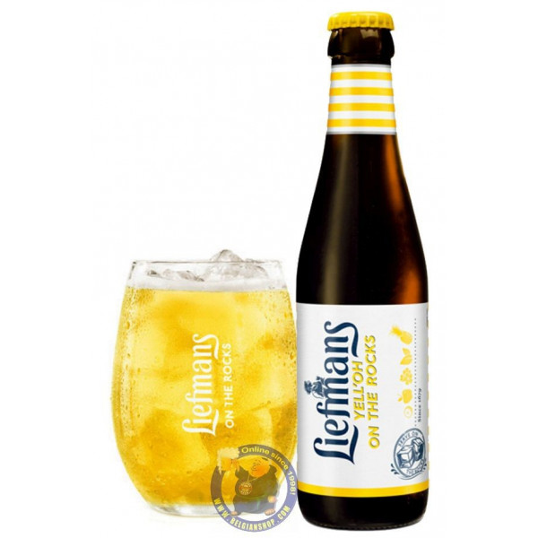 Buy-Achat-Purchase - Liefmans Yell'oh On The Rocks 3.8° - 1/4L - Geuze Lambic Fruits -