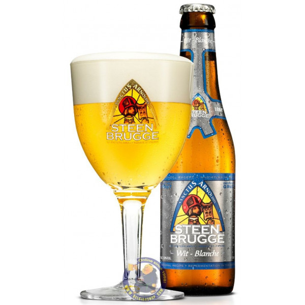 Buy-Achat-Purchase - Steenbrugge Wit 5° - 1/3L - White beers -