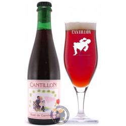 Cantillon Rosé de Gambrinus 5° - 37,5cl -V - Geuze Lambic Fruits -