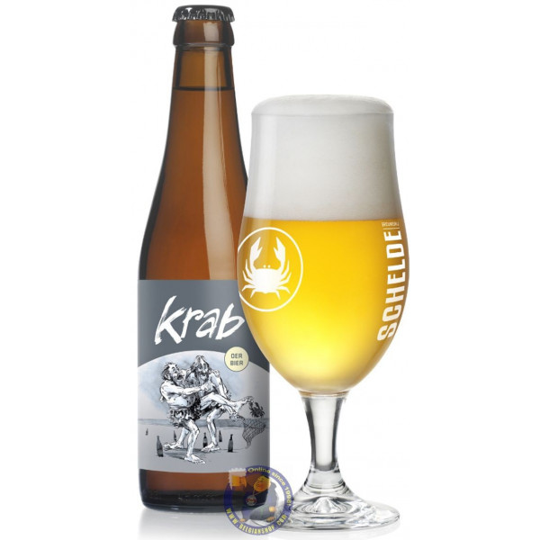 Buy-Achat-Purchase - Scheldebrouwerij Krab 5.2° - 1/3L - Special beers -