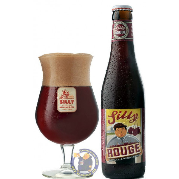 Buy-Achat-Purchase - Silly Rouge 8° - 1/3L - Geuze Lambic Fruits -