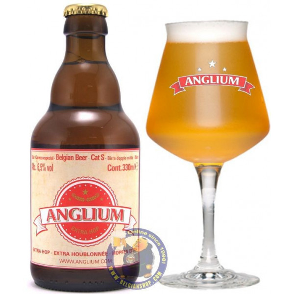 Anglium Extra Hop 6.5° - 1/3L - Special beers -