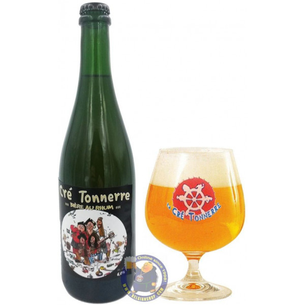 Buy-Achat-Purchase - Cré Tonnerre 6° - 3/4L - Special beers -