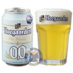 Buy-Achat-Purchase - Hoegaarden 0.0 33cl - Can - White beers -