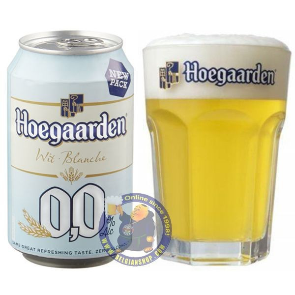 Buy-Achat-Purchase - Hoegaarden 0.0 33cl - Can - Low/No Alcohol -