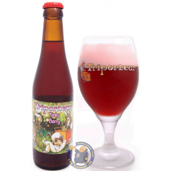 Buy-Achat-Purchase - Triporteur Kinky Berry 6.9° - 1/3L - Geuze Lambic Fruits -