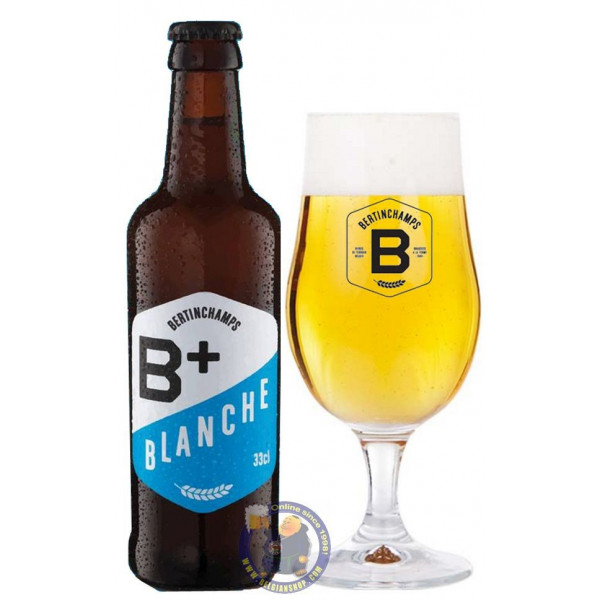 Buy-Achat-Purchase - Bertinchamps B+ Blanche 5° - 1/3L - White beers -